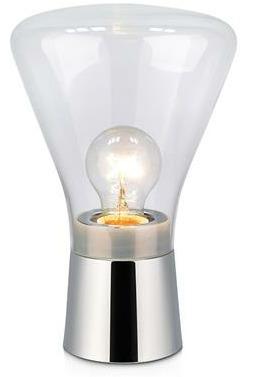 Lampa stołowa JACK table clear glass/chrome 106799 - Markslojd  Napisz lub Zadzwoń - Otrzymasz kupon zniżkowy