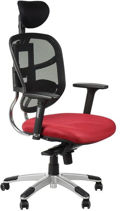 Fotel biurowy gabinetowy HN-5018/BORDO krzesło biurowe obrotowe