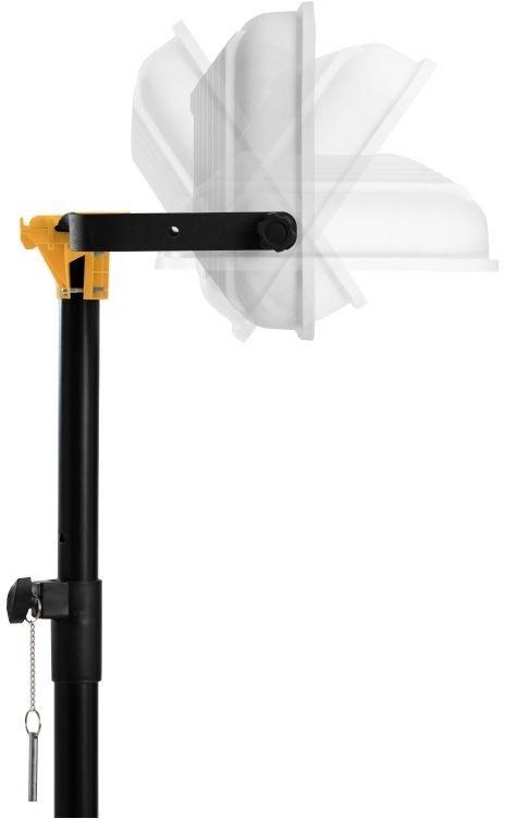 Stojak do lamp UV-C Sterilon czarny 2m Click Head / do wersji 108W/72W Dedykowany stojak do lamp wiruso - bakteriobójczych bezpośredniego działania