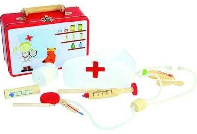Walizka lekarza zabawka dla dzieci