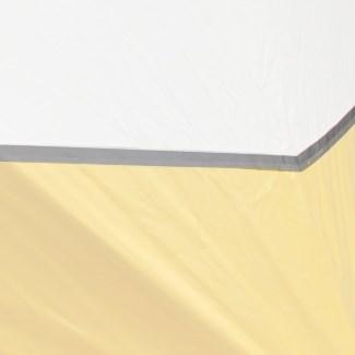 Pas odblaskowy szary 5 cm, na metr