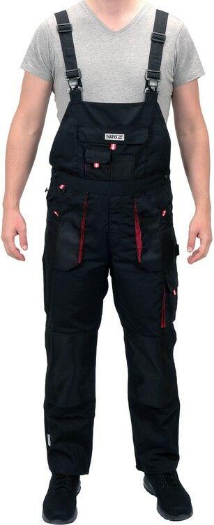 Spodnie robocze ogrodniczki rozmiar xl Yato YT-8033 - ZYSKAJ RABAT 30 ZŁ