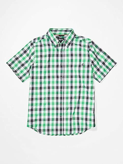 Marmot Męska koszula Kingswest Short Sleeve koszula męska zielony zielony (Kelly Green) M
