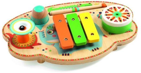 Djeco - Instrument wielofuncyjny MUZYCZNY KARNAWAŁ Animambo