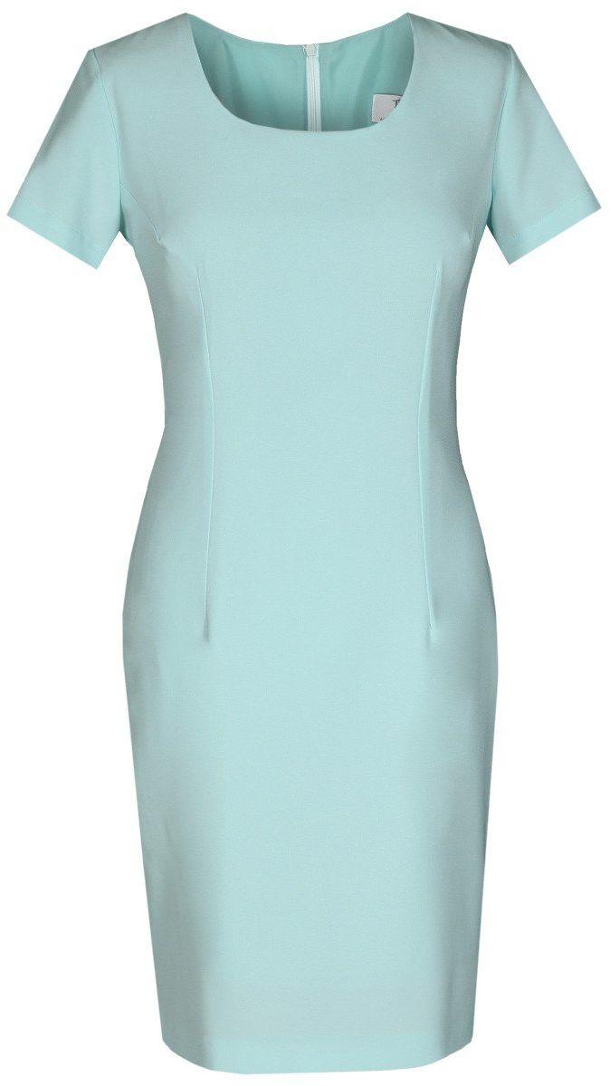 Sukienka FSU693 TURKUSOWY JASNY