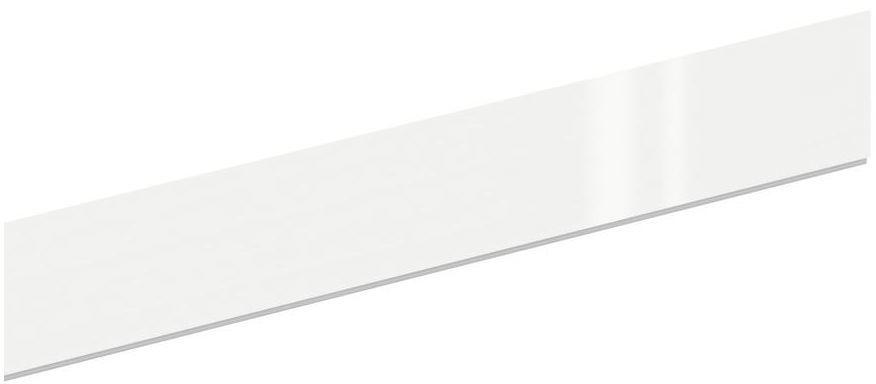 Cokół szafki kuchennej 240 x 10 cm biały połysk Delinia iD