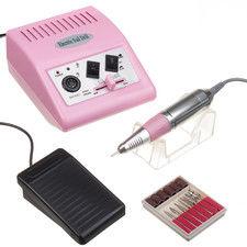 Frezarka do manicure JD500 Różowa + zestaw frezów
