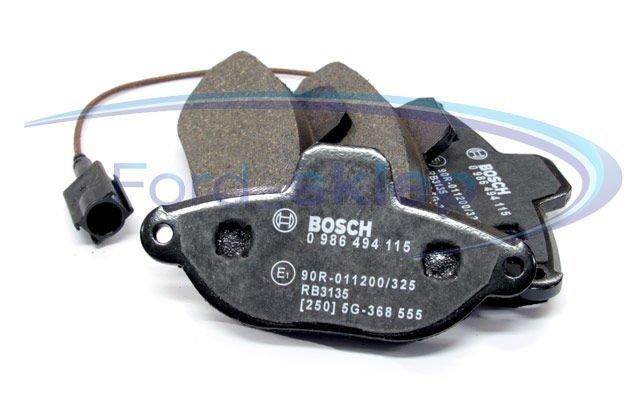 klocki hamulcowe Ford Ka 1.2 MPi - kpl. przód Bosch 0986494115
