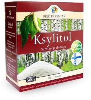 Ksylitol (pudełko papierowe) 500 g Pięć Przemian
