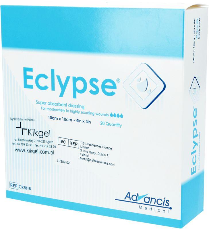 Opatrunek Eclypse 10 cm x 10 cm - 1 szt.