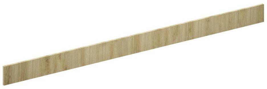 Cokół szafki kuchennej 240 x 10 cm drewno matowe Delinia iD