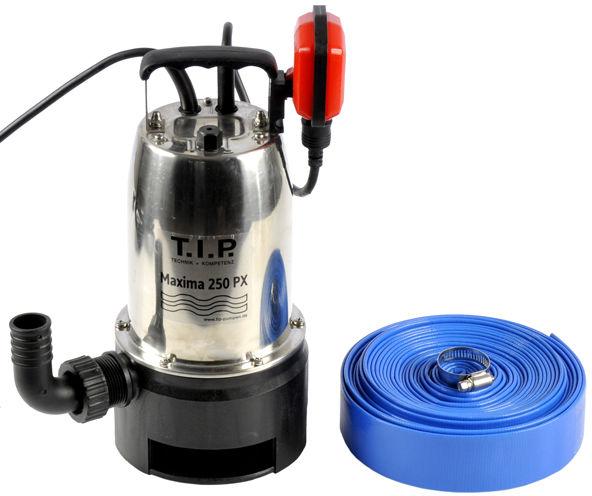 Pompa do wody brudnej z pływakiem 600W 14500l/h