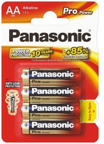Baterie Panasonic Alkaline PRO Power LR6 / AA 4 sztuki