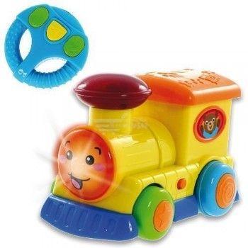 Smily Play Pojazdy sterowane kierownicą Lokomotywa 1156