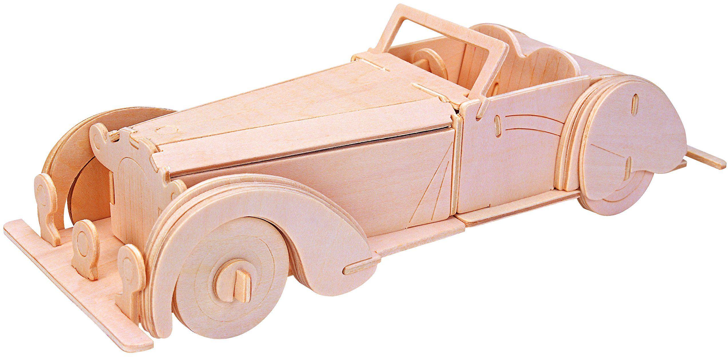 Eureka-Gepetto''s Workshop 52473174 drewniane puzzle 3D Old-Timer Kabriolett