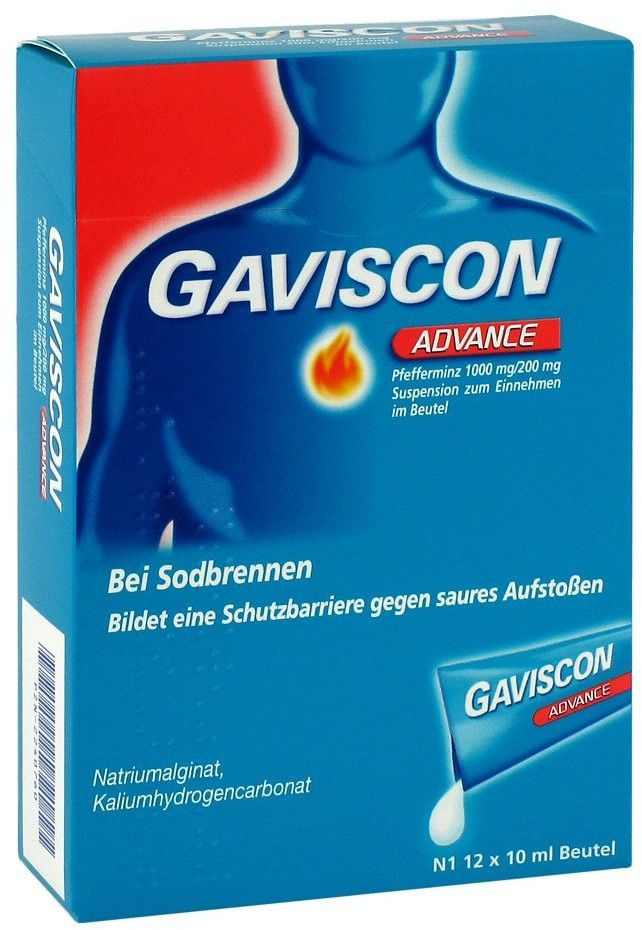 Gaviscon Advance Pfefferminz Susp.