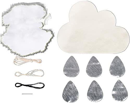 Rayher 52024000 BP: mobilna mała chmurka, 27 x 50 cm, pudełko 1 zestaw, naturalny, normalny