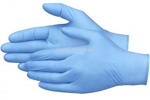 Rękawiczki jednorazowe nitrylowe 200 szt - rozmiar M