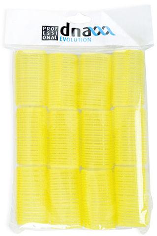Kiepe Wałki do włosów D32 - zółte 12 sztuk w opakowaniu, średnica 32mm 12 szt.