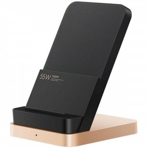 Ładowarka bezprzewodowa Xiaomi Vertical Air-Cool Qi 55W, czarno-złota