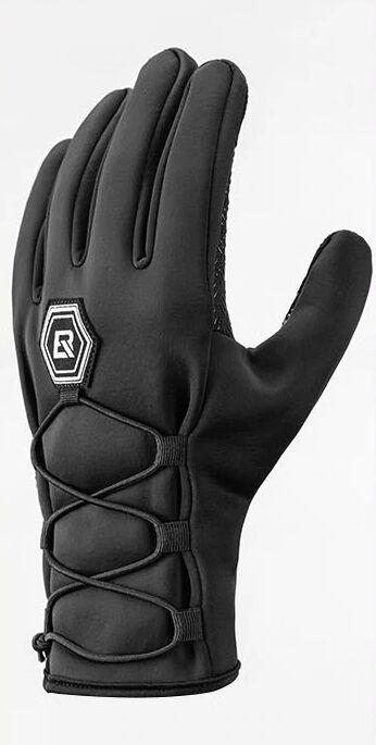Rockbros zimowe rękawiczki rowerowe softshell czarne S077-6BK Rozmiar: XL,S007-6BK