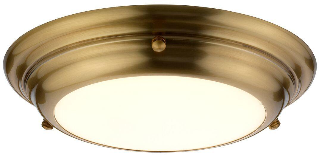 Plafon Welland S AB Elstead Lighting klasyczna oprawa w kolorze antycznego mosiądzu