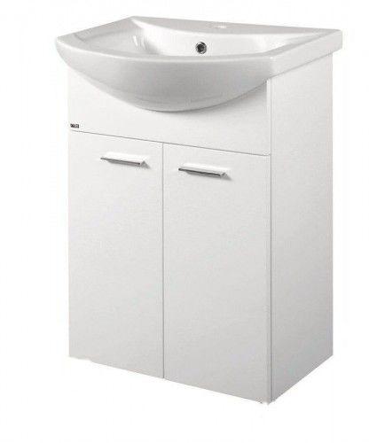 ZOJA szafka umywalkowa 50,5x74x30cm, biała