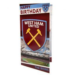 West Ham United - kartka urodzinowa