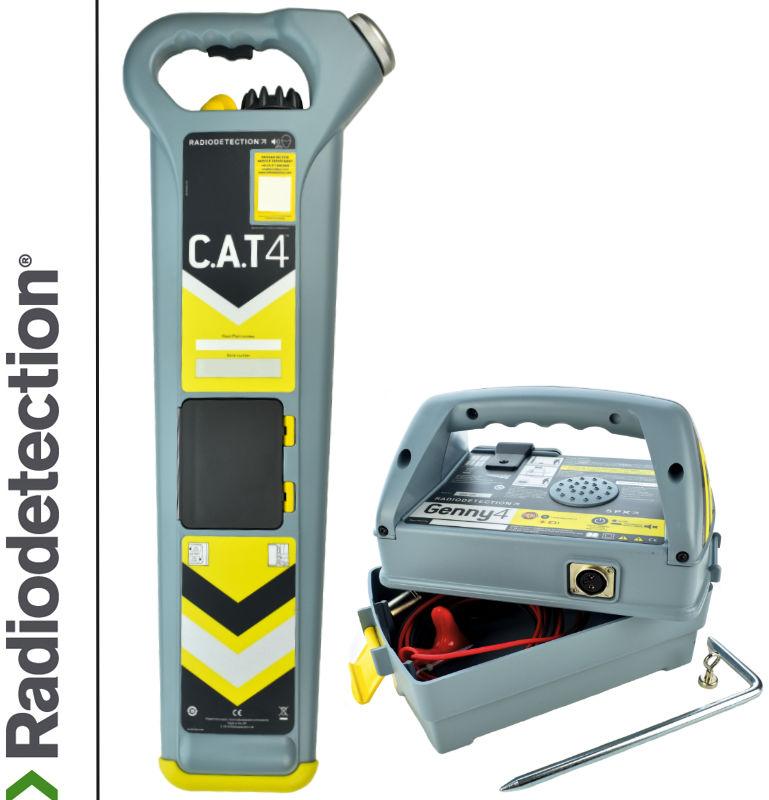 Radiodetection Wykrywacz instalacji podziemnych Cat4 & Genny