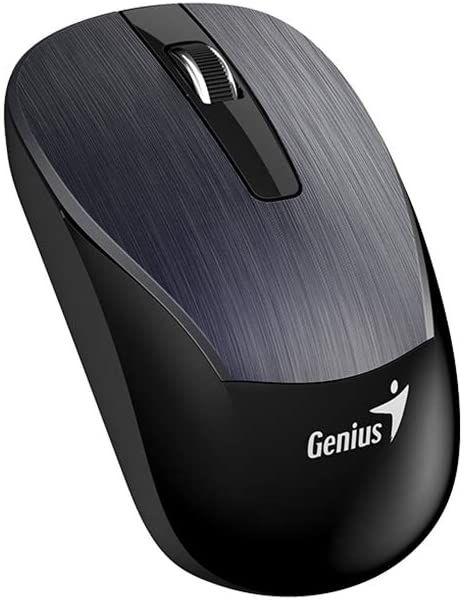 Genius ECO-8015 IRON GRAY 1600 dpi BlueEye 2,4 GHz mysz do ponownego ładowania  mysz bezprzewodowa RF
