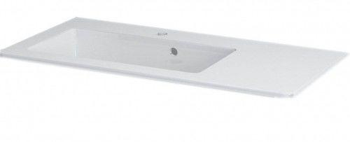GREDA umywalka kompozytowa 90x45cm biała blat po prawej