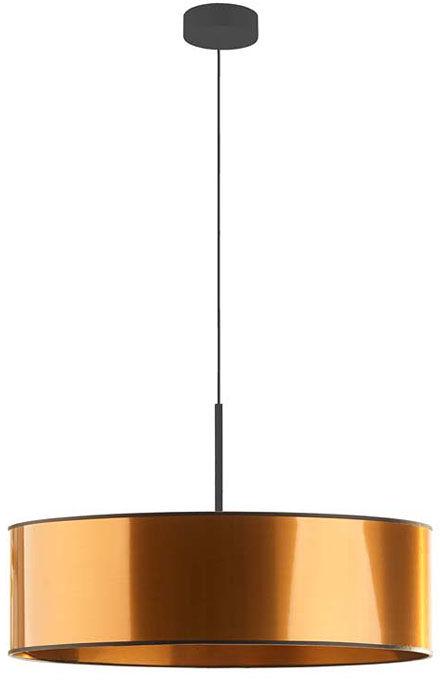 Miedziany okrągły żyrandol nad stół 60 cm - EX874-Sintrev