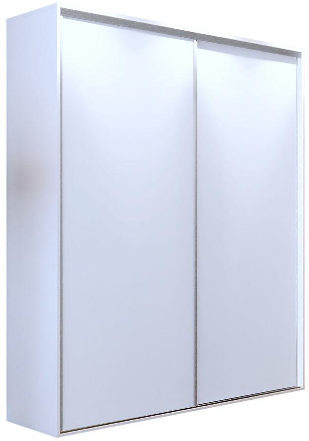 Biała szafa przesuwna 200 cm - Savona 2X