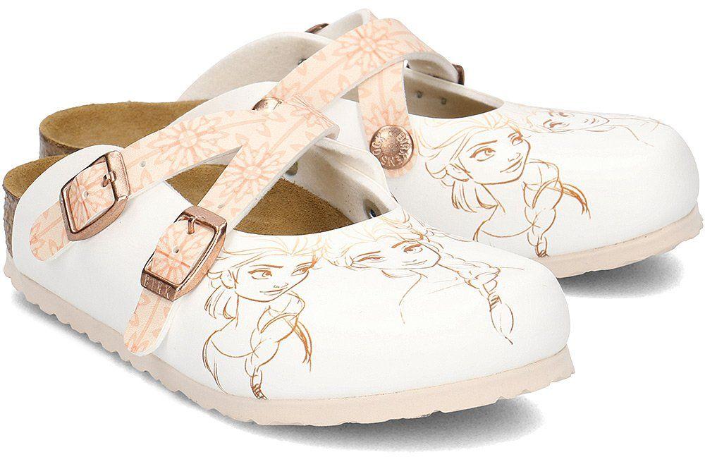 Birkenstock Dorian - Klapki Dziecięce - 1010354 - Biały