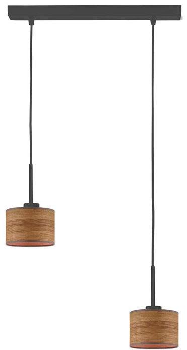 Lampa wisząca skandynawska na czarnym stelażu - EX436-Montans - 4 kolory