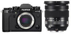 Aparat Fujifilm X-T3 + 16-80mm f/4 Czarny