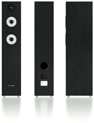 Pylon Audio Pearl 25 (czarny) 2 szt. - 33,78 zł miesięcznie