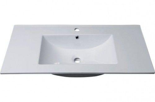 Umywalka 90x16x46 cm meblowa prostokątna , SLIM