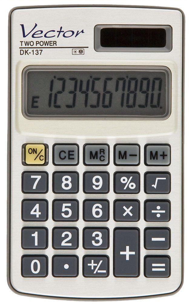 Kalkulator Vector DK-137 6 lat gwarancji