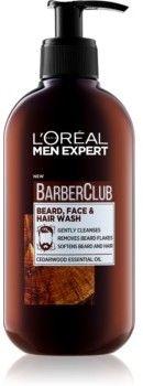 LOréal Paris Barber Club żel do mycia brody, twarzy i włosów 200 ml
