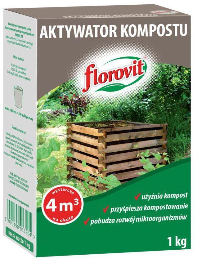 Aktywator kompostu 1 kg FLOROVIT