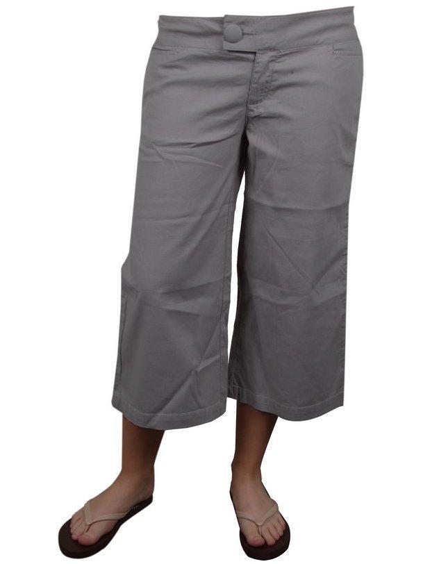 Dreevee GP1184 GREY spodnie lniane kobiety - M