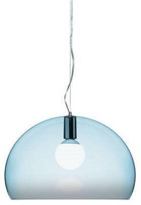 Small Fl/Y Ø38 niebieski - Kartell - lampa wisząca