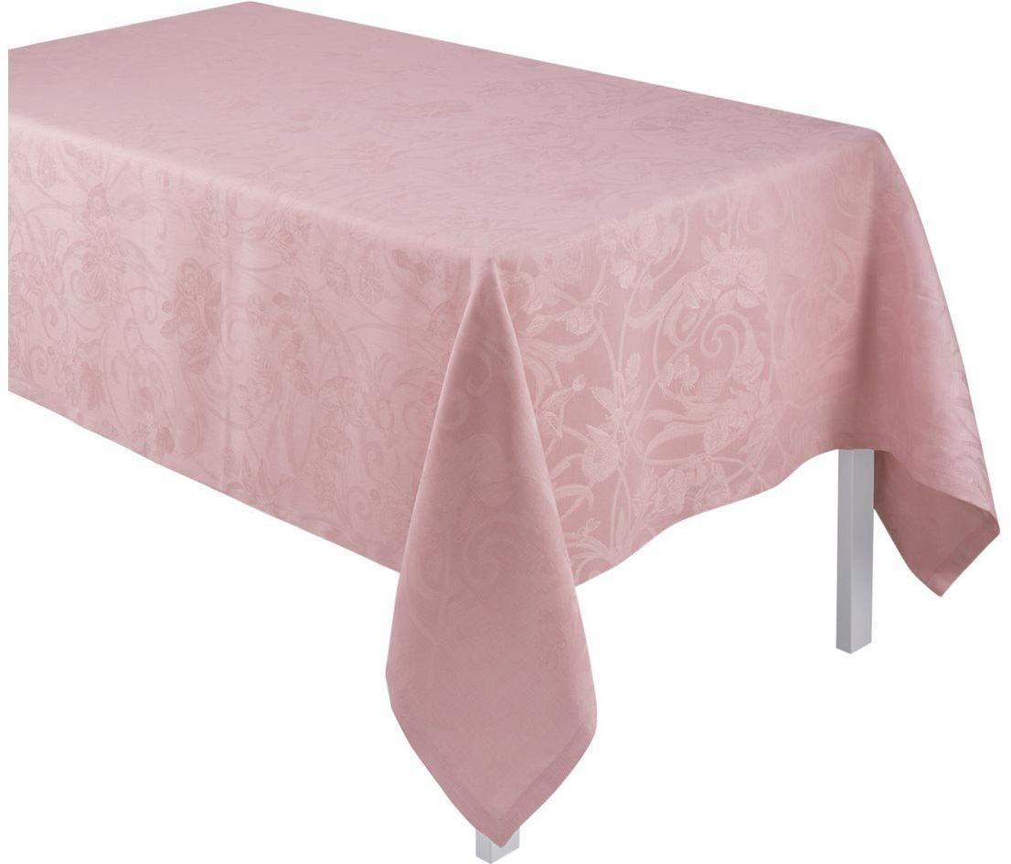 Obrus żakardowy Le Jacquard Fran ais Tivoli Powder Pink
