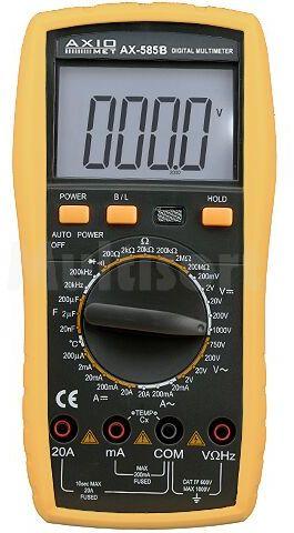 Multimetr cyfrowy AX-585 4,5 cyfry z podświetleniem