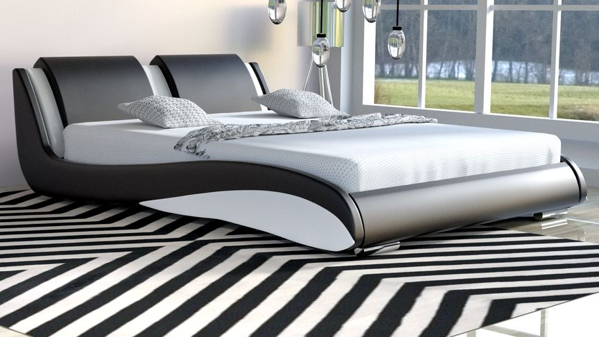 Łóżko do sypialni Stilo-2 Standard velur