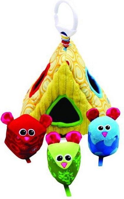 Zabawki Lamaze 27227 Domek z myszkami