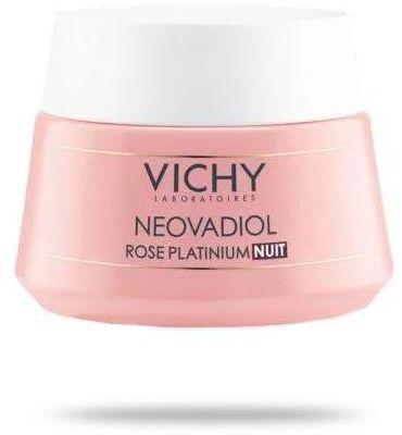 Vichy Neovadiol Rose Platinium na noc rewitalizujący i ujędrniający krem do skóry dojrzałej 50 ml [KUP 2 produkty Vichy Neovadiol = Neovadiol Magistral night krem na noc]