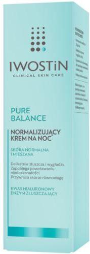 Iwostin Pure Balance Normalizujący krem na noc 50 ml