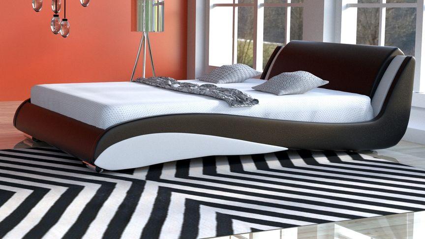 Łóżko do sypialni Stilo-2 Lux Standard velur
